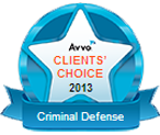 AVVO Clients Choice 2013 Criminal Defense